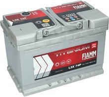 Fiamm M Titanium PRO 12V 74Ah 680A (EN) L+