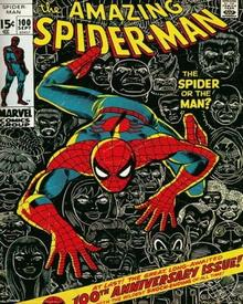 Spider-man (Cover) - Plakat