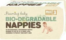 Beaming Baby Pieluchy Ekologiczne Pieluchy jednorazowe 4 Maxi 7-11 kg 38 szt.