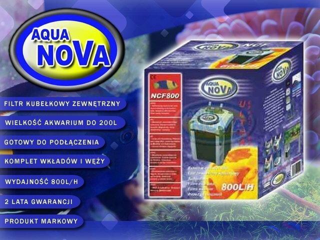 Aqua Nova NCF 800 Filtr 800L/H