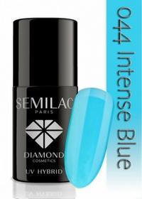 Semilac UV Hybrid lakier hybrydowy 044 Intense Blue 7ml