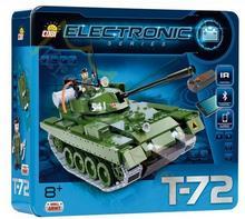Cobi ELECTRONIC - MAŁA ARMIA - CZOŁG T-72 v2 [ IR - Bluetooth ]