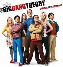 Big Bang Theory / Teoria Wielkiego Podrywu - oficjalny kalendarz 2015 r.