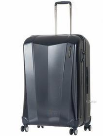 March Ultralekka walizka podróżna duża z poliwęglanu Vision - Granatowy 3300-04-74