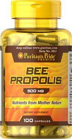 Puritans Pride Bee Propolis 500mg 100 szt.