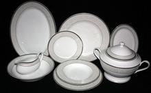 Bogucice Serwis obiadowy dla 12 osób - Martha Platin 600