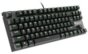 Natec Genesis Thor 300 TKL zielone podświetlenie