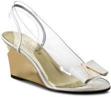 Azuree Sandały Neoti 7DOC Vernis Blanc/Logo Or tworzywo/-wysokogatunkowe tworzywo, skóra naturalna/lakierowana