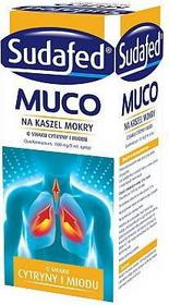 Johnson&Johnson Sudafed Muco na kaszel mokry 150 ml