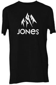 Jones T-shirt - Basic Tee Plain Black czarny rozmiar: XL