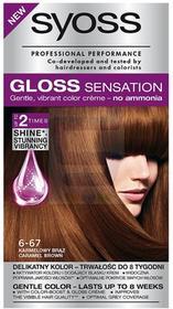 Syoss Gloss Sensation Karmelowy brąz 6-67