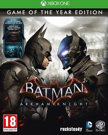 Batman Arkham Knight Game of the Year Edition XONE