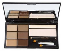 Makeup Revolution Ultra Brow paletka do brwi odcień Fair To Medium The Ultimate