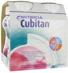 N.V.Nutricia Cubitan Truskawkowy płyn 200ml x 4szt 8454631