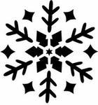 Opinie o Szabloneria Szablon malarski z tworzywa - śnieżynka 1 do malowania farbą, sztucznym śnieg