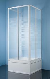 Sanplast Classic 70 KT/Dr-c-70 70x70 profil biały ew szkło P 600-013-0810-01-520