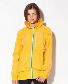 Horsefeathers kurtka wiosenna damska PEBBLE JACKET (yellow)