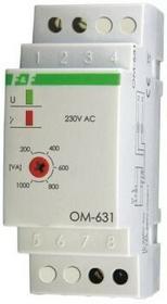 F&F Ogranicznik poboru mocy na szynę 16A 230V 200-1000W 30 sek OM-631