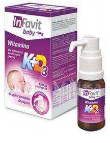 INFARMACJA SP. Z O.O. INFARMACJA SP Z O.O INFAVIT BABY Witamina K+D3 dla niemowląt karmionych piersią 9 ml 8911501