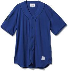 Diamond T-Shirt - Dugout Baseball Jersey niebieski (BLUE)