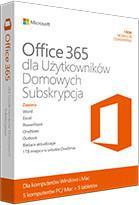Microsoft Office 365 Home (1 stan. / 1 rok) - Nowa licencja