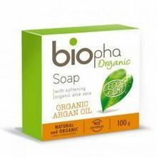 Organic Naturalne Mydło w kostce bogate w olej Arganowy - 100g - BIOpha