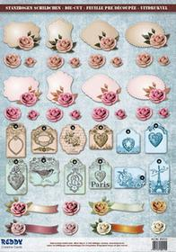 Papier do scrapbookingu Vintage A4 - 85010
