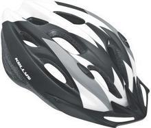 Kellys Kask rowerowy BLAZE white-black