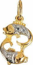 Tyfanit Złoty znak zodiaku - ryby ZZ12