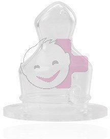 BabyNova silikonowy smoczek Smoczek antykolkowy do butelki standardowej rozm.2