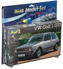 Revell Samochód VW Golf 1 GTI (z farbami) 67072