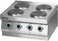 Lozamet Kuchnia elektryczna 4-płytowa (płyty okrągłe) (linia 650) LEH.400