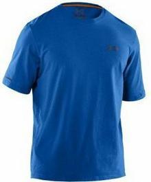 Under Armour T-shirt męska HeatGearR Charged CottonR krótki rękaw T-Shirt
