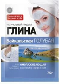 Fitocosmetic Glinka kosmetyczna błękitna, bajkalska - odmładzająca z efektem liftingu 75g