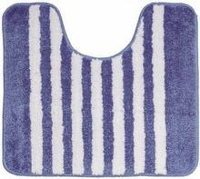 Sealskin STRISCE BLUE Dywanik łazienkowy z wycięciem pod wc 50x45cm 294388424