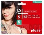 Opinie o Plus JA+ 5zł / 5GB / internet na kartę