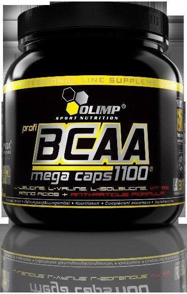 Olimp BCAA Mega Caps 300 kaps. (330g BCAA)