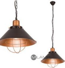 Nowodvorski LAMPA wisząca GARRET S 6443 industrialna OPRAWA metalowy Zwis do prz