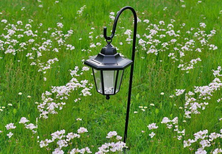 Lampa solarna, LAMPA W ELEGANCKIM STYLU - CZARNA