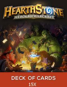 Hearthstone Heroes of Warcraft 15 x Talia Kart