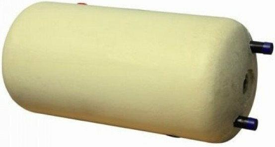 GALMET wymiennik dwupłaszczowy,poziomy w żółtym poliuretanie 20-104700