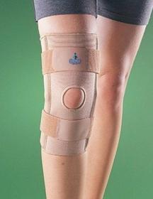 Antar Oppo Stabilizator kolana z zawiasami, z przewiewnej tkaniny 2031