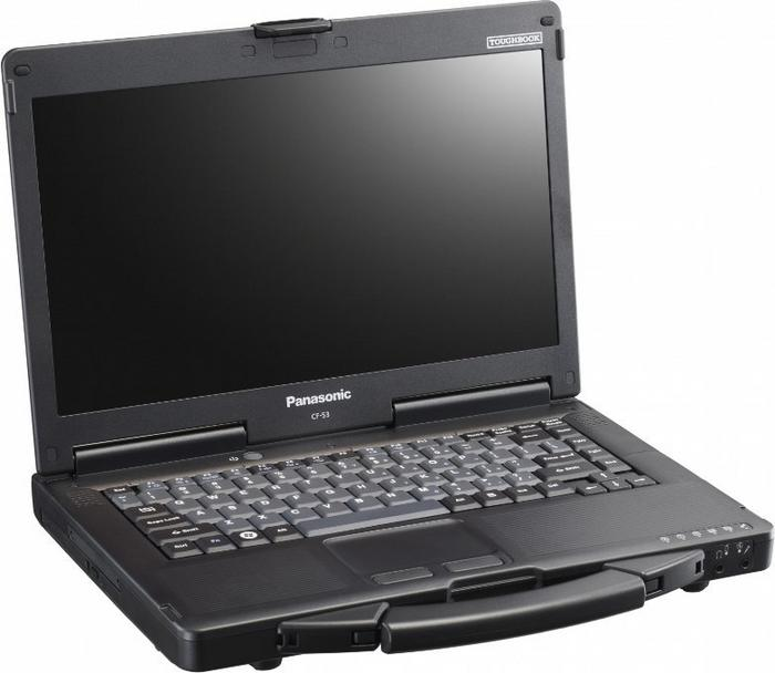"Panasonic Toughbook CF-53 14"", Core i5 2,5GHz, 4GB RAM, 320GB HDD"