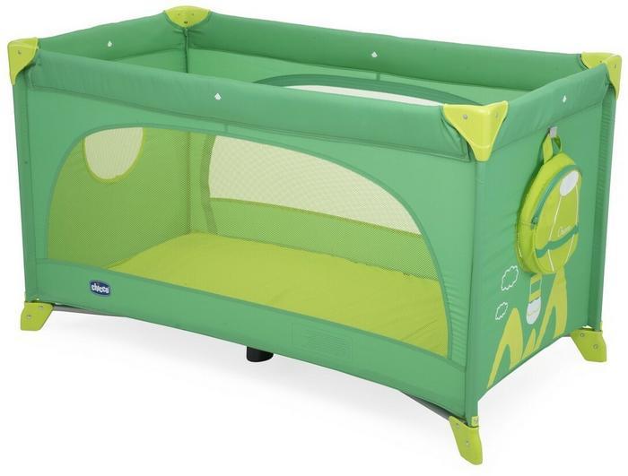Chicco Artsana Easy Sleep Green Jam łóżeczko łóżeczka turystyczne
