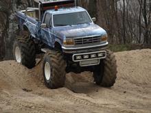 Jazda Monster Truck