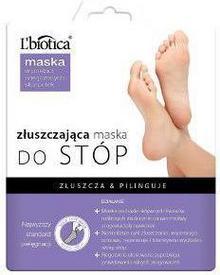 Lbiotica Maska do stóp złuszczająca w postaci nasączonych skarpetek 32ml