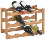 Wenko Drewniany stojak NORWAY na wino - 12 butelek 18615100 4B3
