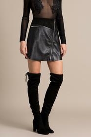 Missguided Spódnica S9993356 czarny
