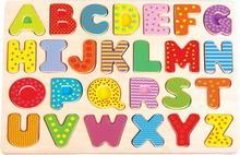 Nefere Puzzle układanka alfabet - duże litery