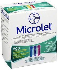 Bayer Microlet lancety kolorowe Vital GmbH 06691206